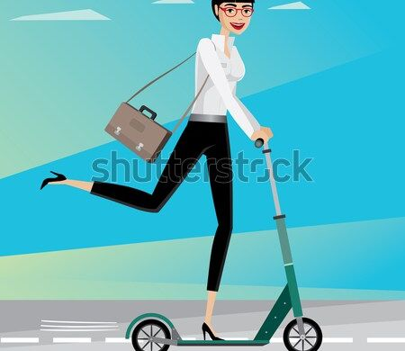 happy-businesswoman-rushing-work-by-450w-326004728